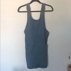 Vintage Denim Dress with Pockets